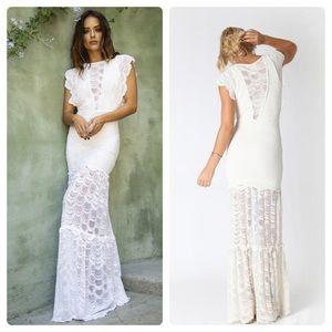 Nightcap Dresses - Nightcap Free People Caletto Wedding Maxi Dress